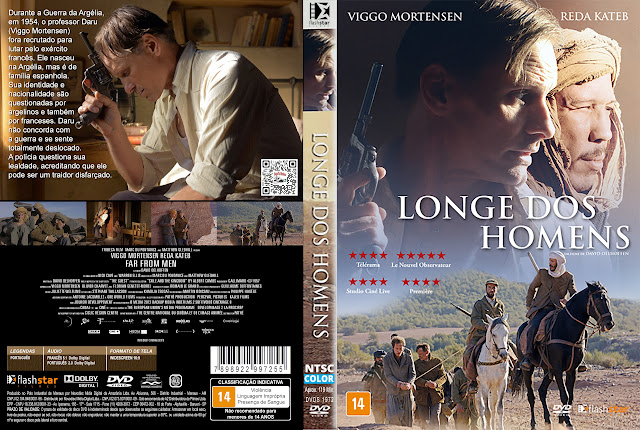 Capa DVD Longe dos Homens [Exclusiva]