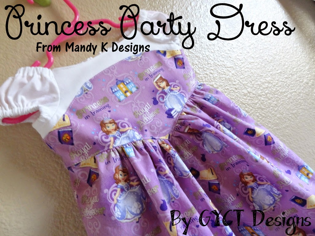Princess Party Dress at GYCT Designs