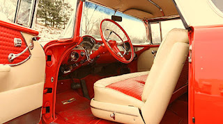 1955 Chevrolet Nomad Wagon Interior