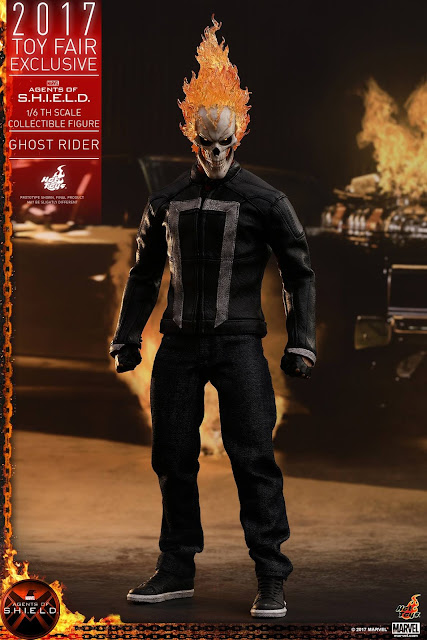 osw.zone Hot Toys 2017 Toy Fair Exclusive: agents of S.H.I.E.L.D. (19459003)  Finally, the legendary Ghost Rider is in one of the most popular Marvels.