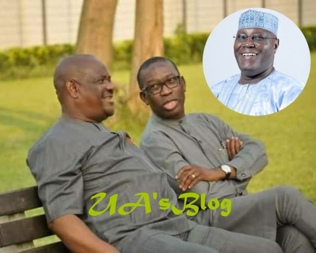 EMPERORS: Governors Okowa and Wike Conspires to make ATIKU PDP Presidential canditate