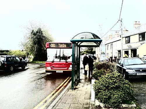 381 bus route tenby webcam