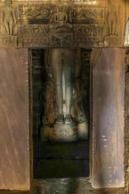Sanctum Sanctorum of the Jain Mandir