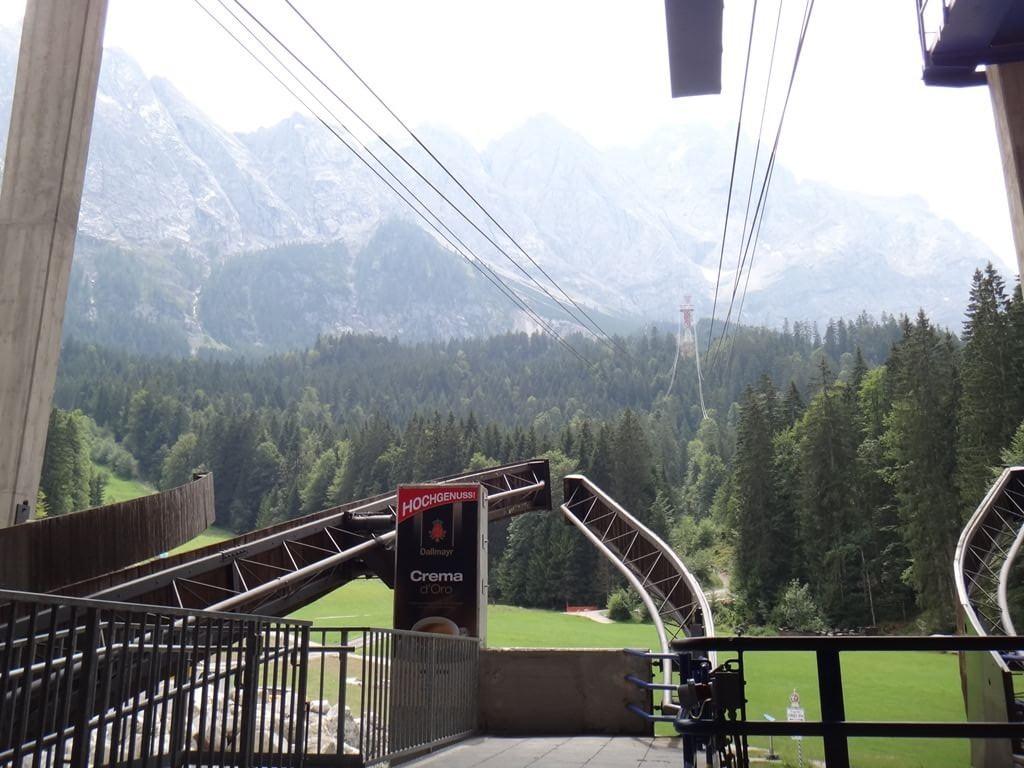 Como chegar ao Zugspitze