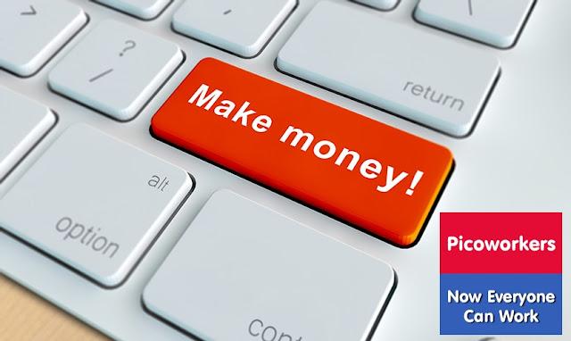 Kiếm / Kiếm tiền trực tuyến dễ dàng và nhanh chóng với picoworkers.com