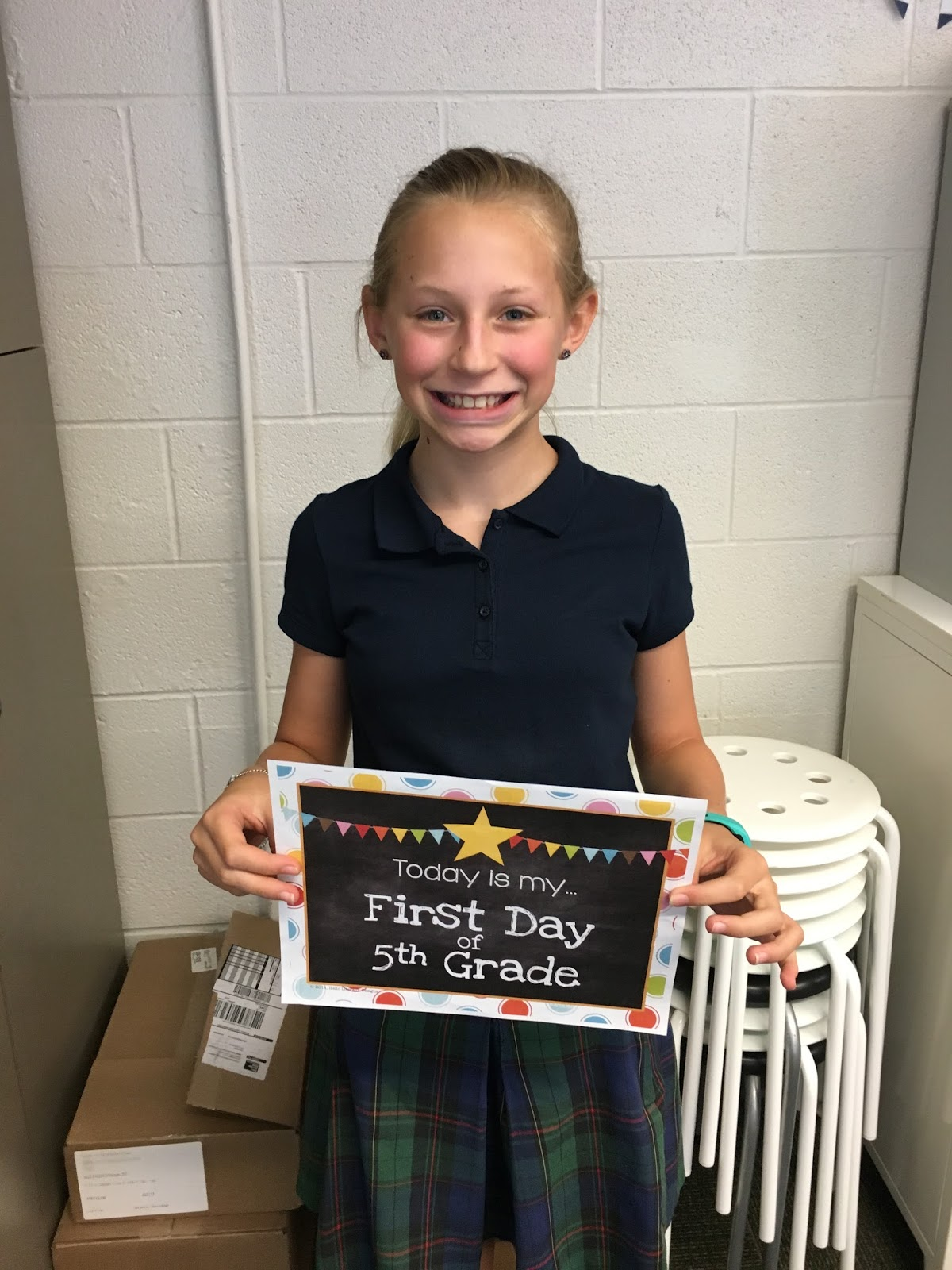 Mrs Florey S Class Blog First Day Of 5th Grade