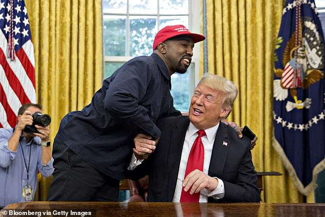 Kanye West implies he will vote for Donald Trump in 2020 election