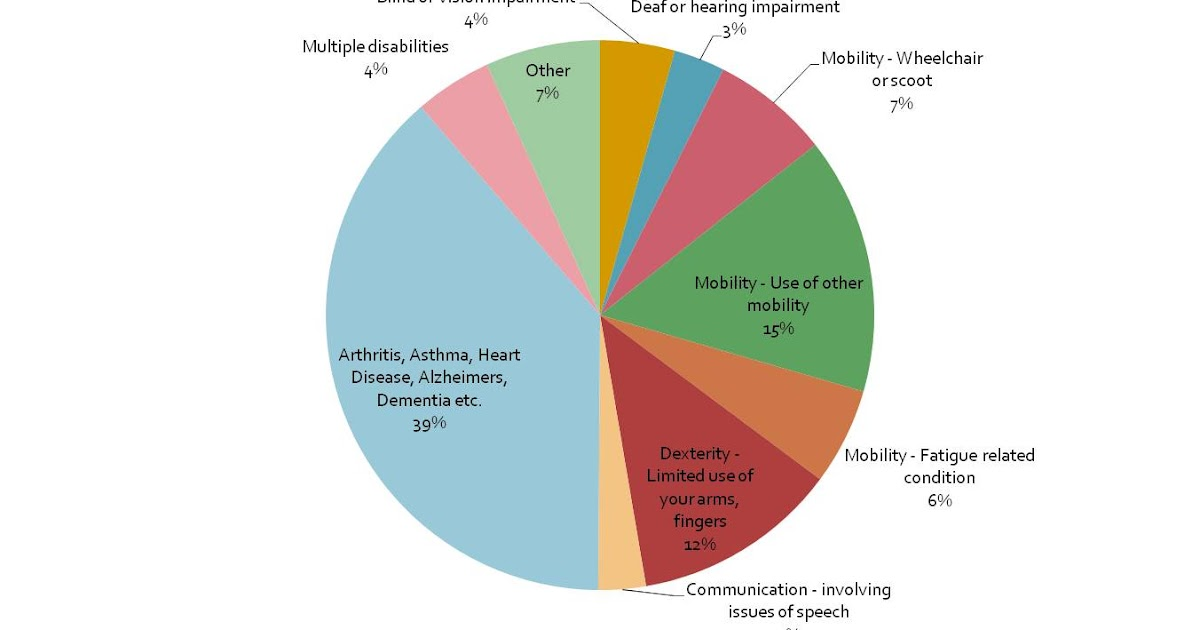 Accessible Tourism Research Numbers Of People With