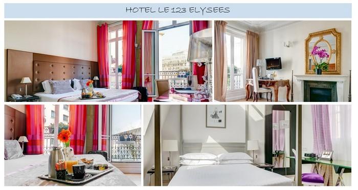hotel le 123 elysses