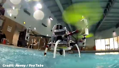 The Naviator: A Flying, Swimming Drone
