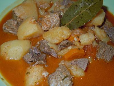 El blog de debora mis recetas del dia a dia patatas guisadas con carne en olla rapida - Patatas en olla rapida ...