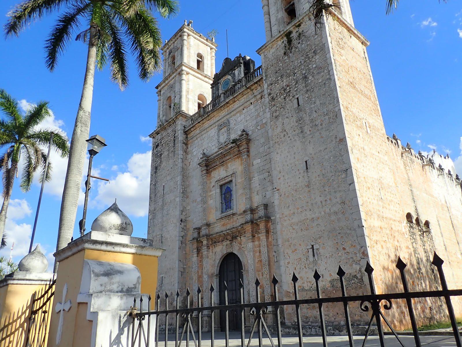 cathédrale de san servacio à valladolid au mexique