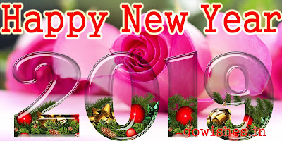 Happy New Year 2019 Images HD Wallpaper Photo Sayari