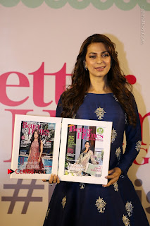 Bollywood Actress Juhi Chawla Launchs Better Homes 10th Anniversary Celetion Cover  0010.JPG