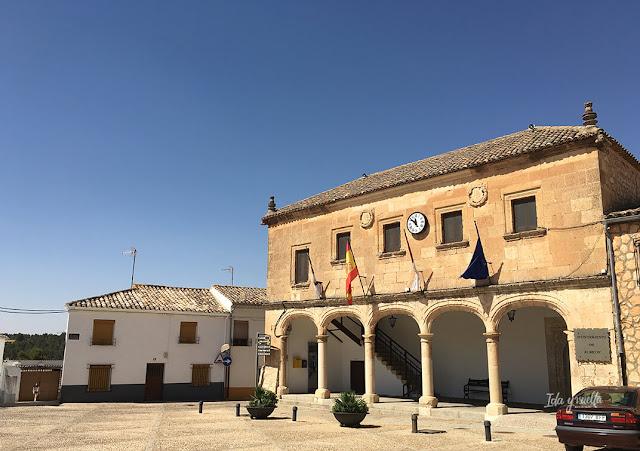 Edificio del ayuntamiento de Alarcón