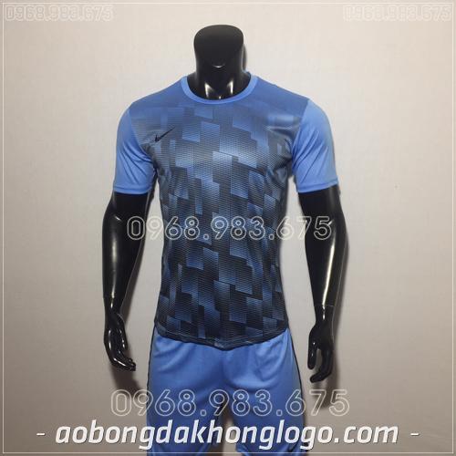Áo bóng đá không logo Nike HHP David màu xanh