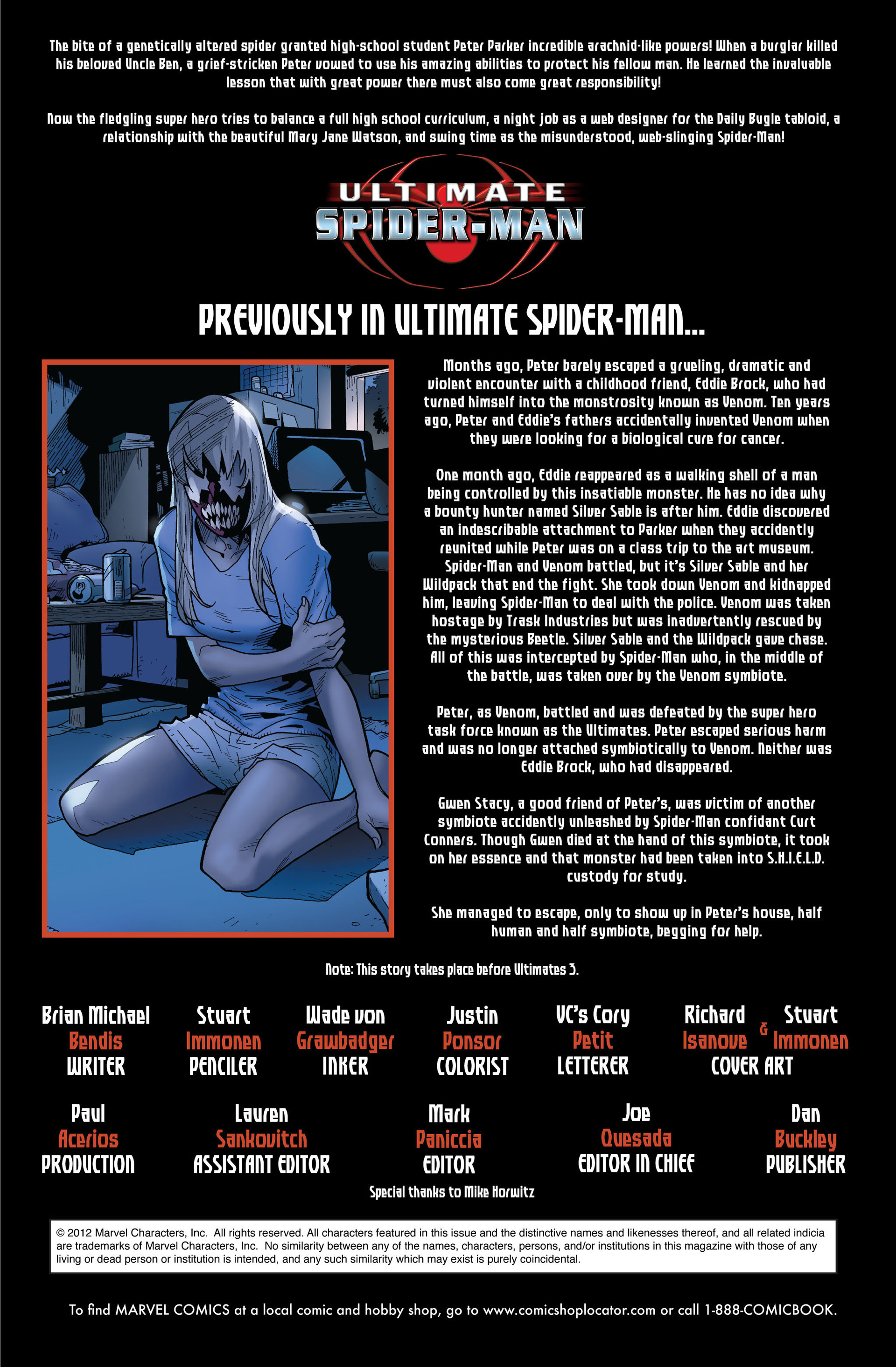 Read online Ultimate Spider-Man (2000) comic -  Issue #128 - 2