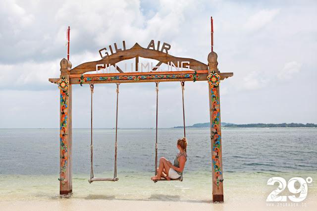 Gili Air - en av de populära Gili öarna