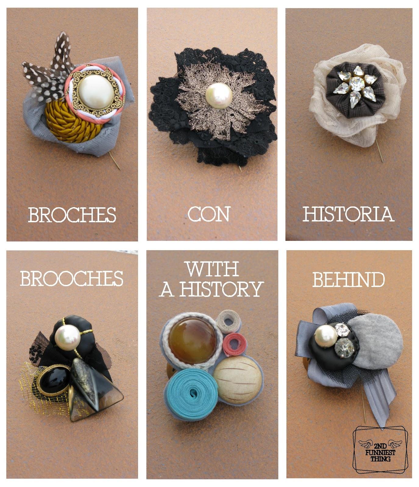 les mieux notés dernier parcourir les dernières collections 60% de réduction Regalo original: broches con historia / Different gift ...