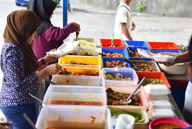 Nasi-Campur-Desa-Terbrau-Sri-Lanang-Johor-Bahru