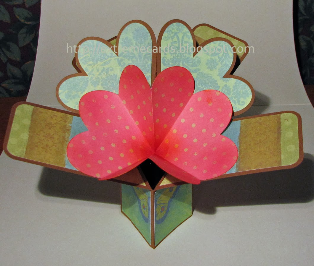 Diagonal Card In A Box