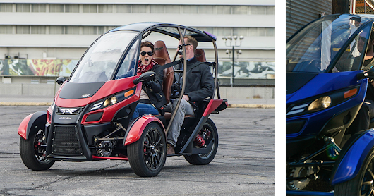 Arcimoto Showcasing Fun Utility Vehicle at CES 2018