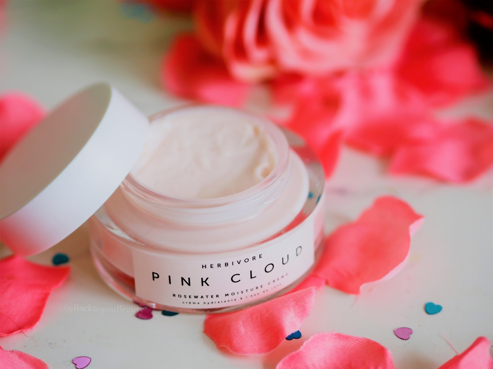 Pink Cloud Rose Water Moisture Cream