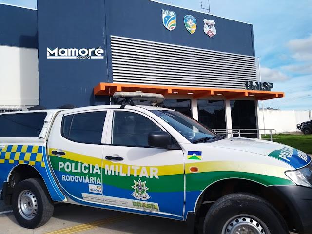 POLÍCIA MILITAR DE NOVA MAMORÉ PRENDE DOIS ELEMENTOS CONDENADOS PELA JUSTIÇA