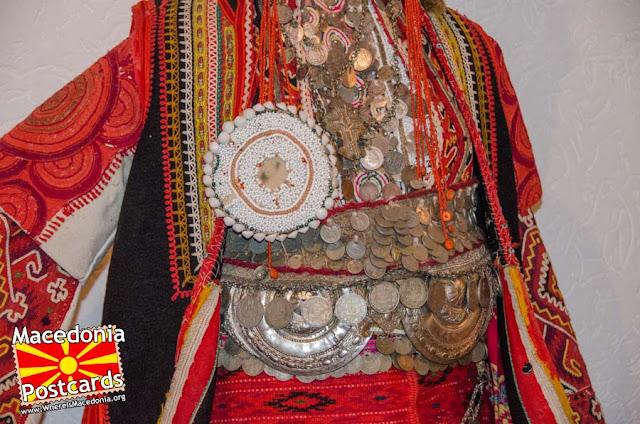 Folk costume - Ethnological museum - village Podmocani, Municipality of Resen