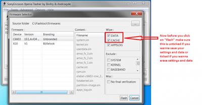 How to Flashing Sony Xperia using flashtool – GSMHostingVIP