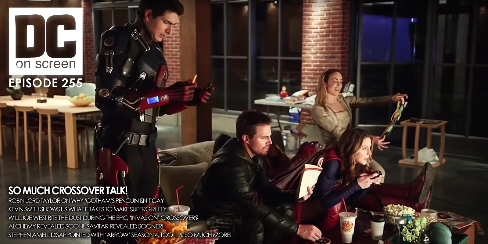 DC on SCREEN Podcast: CW Crossover Photoshoot & Mid-Season Promises