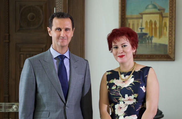 فضيحة.. الروسية التي قابلت الأسد نجمة أفلام إباحية (صور)