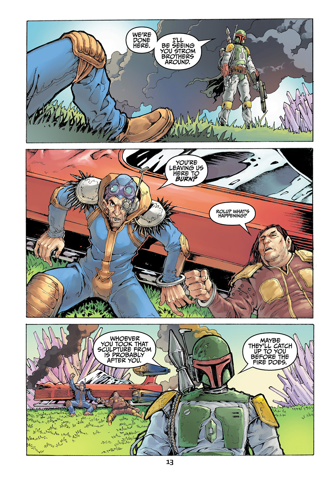Read online Star Wars Adventures comic -  Issue # Issue Boba Fett and the Ship of Fear - 14
