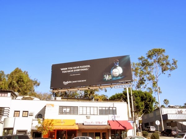 Don Julio Tequila passion billboard