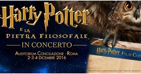 HARRY POTTER E LA PIETRA FILOSOFALE, il Cine-Concerto: questo fine settimana la prima nazionale