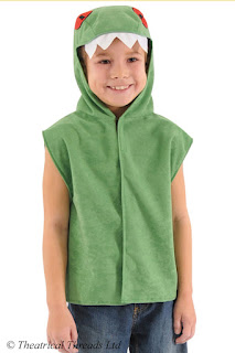 Crocodile One Size Tabard Costume from Theatrical Threads Ltd