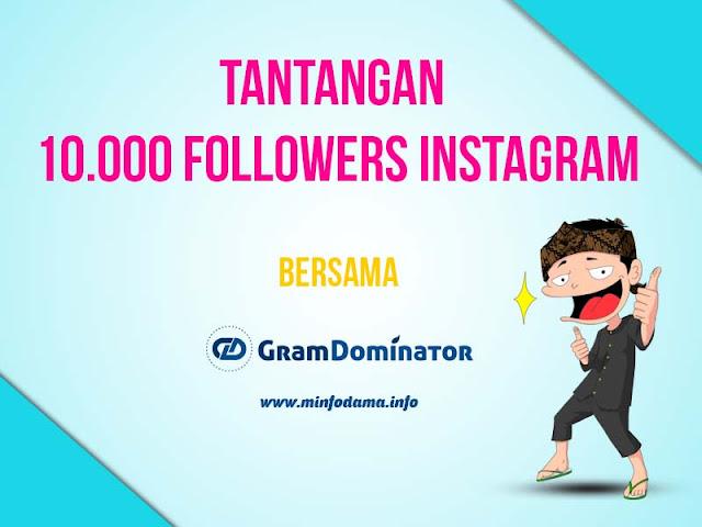 10k instagram challenge