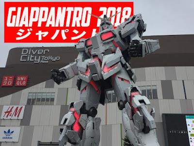 Il Gundam Unicorn di Odaiba