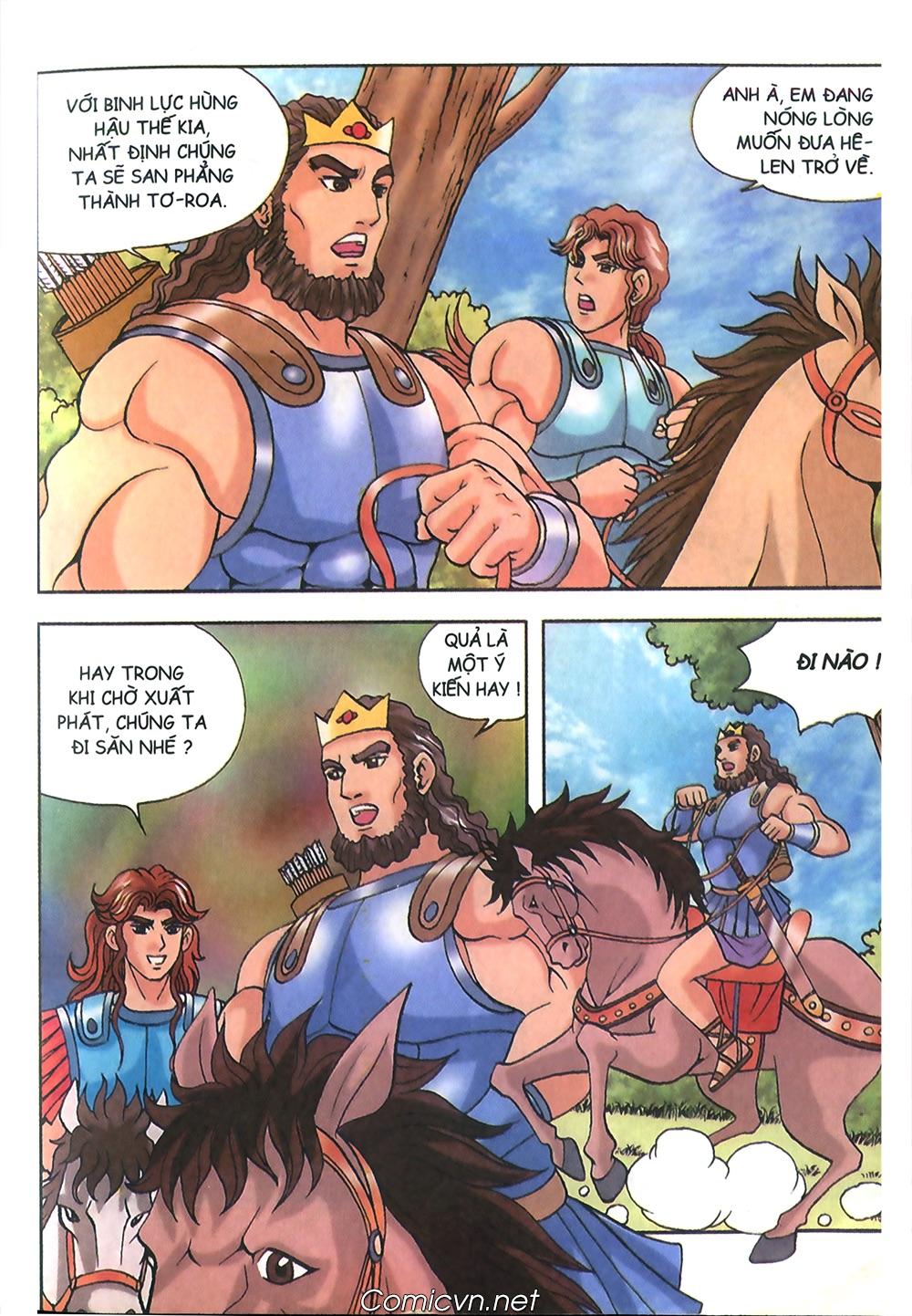 Thần Thoại Hy Lạp Màu - Chapter 53: Trước giờ xung trận - Pic 9