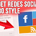 Gadget de Redes Sociales METRO STYLE