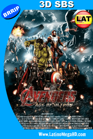 Los Vengadores 2: La Era de Ultron (2015) Latino 3D SBS 1080P ()