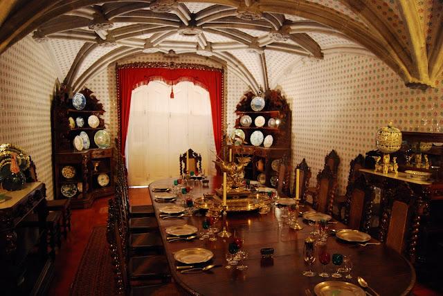 Salle à manger Palais de Pena