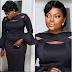 Funke Akindele wows in black