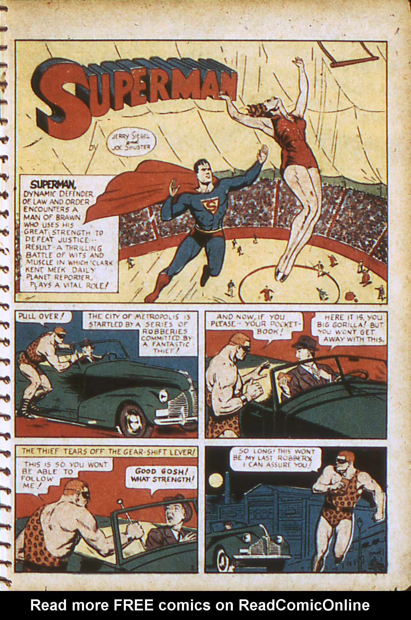 Read online Action Comics (1938) comic -  Issue #28 - 4