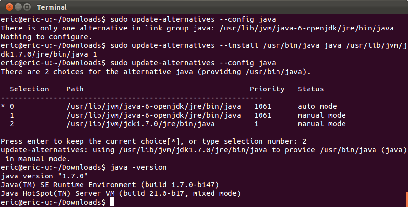 linux install java-1.7.0-openjdk