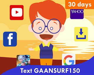 TNT Internet Promo - Gaansurf150