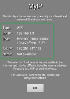 Cara Melihat Ip Address Android Sendiri