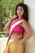 pavani new photos in saree-thumbnail-10