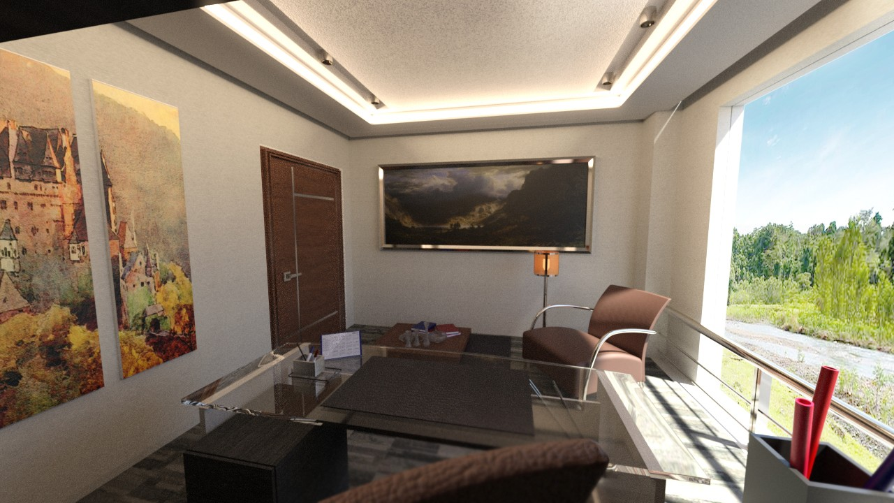 Download daz studio 3 for free daz 3d tesla study room for Living room 2 for daz studio
