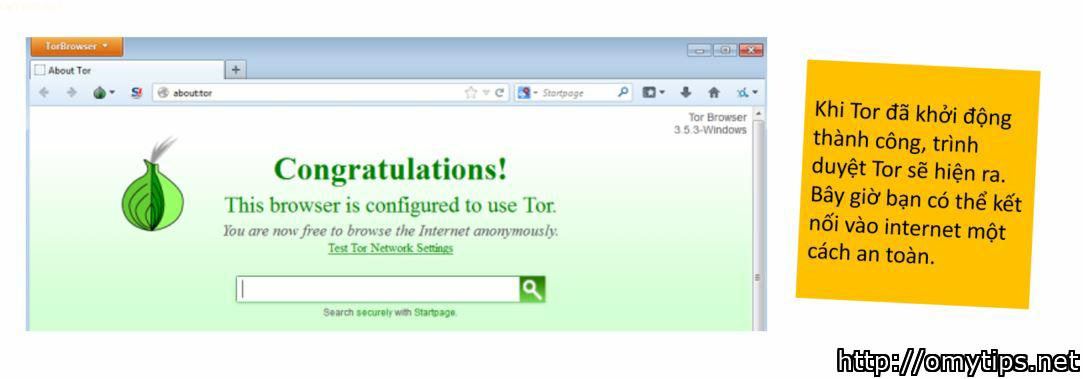 Hướng dẫn cài đặt Tor - Trình duyệt an toàn nhất thế giới